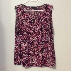 Laura Sleeveless Patterned Top